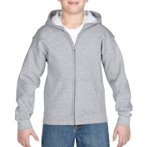 18600B Gildan® Heavy Blend™  Youth Full Zip Hooded Sweatshirt