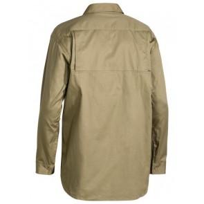 Bisley Men's Cool Light Weight Long Sleeve Drill Shirt