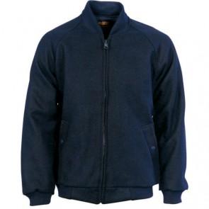 DNC Bluey Jacket with Ribbing Collar & Cuffs