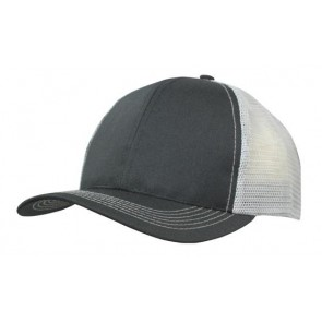 Trucker Cap Breathable Poly Twill With Mesh Back