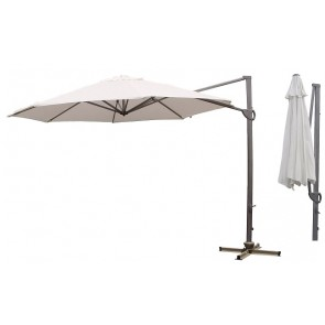 Cantilever Market Umbrella 3.3M 8 Ribs Acrylic Canvass