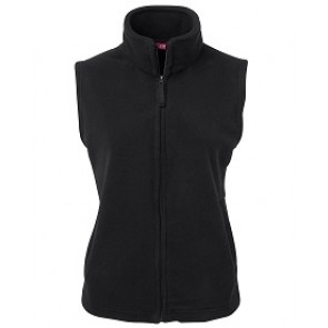 JBs wear Polar Vest - Black - Front