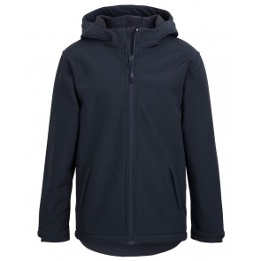 JBs wear Podium Kids Water Resistant Hooded Softshell Jacket