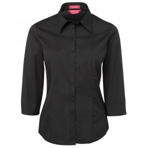 JBs wear Ladies Urban 3/4 Sleeve Poplin Shirt