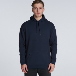 AS Colour Men's Stencil Hood - Navy Man Model