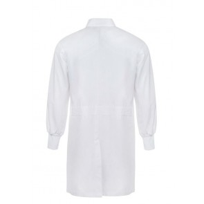 Work Craft Food Industry Dustcoat with Internal Chest Pocket and Side Pockets Long Sleeve