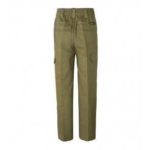 Work Craft Kids Mid Weight Cargo Cotton Drill Trouser