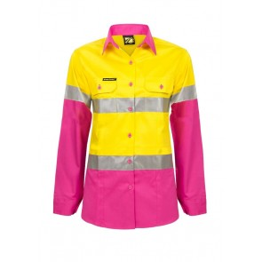 YELLOW PINK FRONT