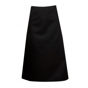 Blue Whale Apron Waisted without Pockets BLACK