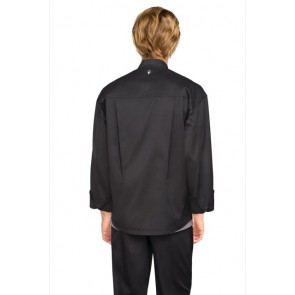 Chef Works Amalfi Black Signature Chef Jacket