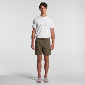 AS Colour Men's Beach Shorts - Army Stone
