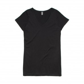 AS Colour WO's Bevel V Neck Tee