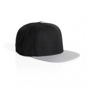 AS Colour Clip Snap Back Cap - black Light Grey