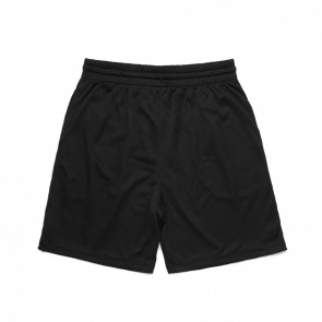 AS Colour Court Shorts - Black Front