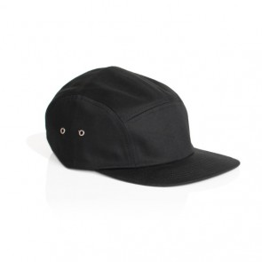 AS Colour Finn Five Panel Cap - Black
