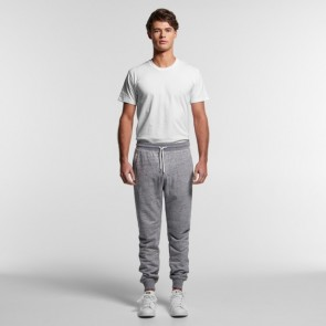 AS Colour Men's Fleck Track Pants - Grey Model Front