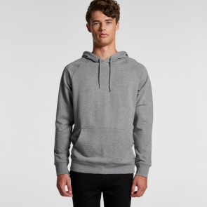 AS Colour Men's Premium Hood - Model Grey Marle
