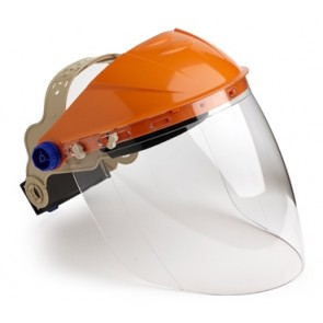 Browguard With Visor Clear Lens Extra High Impact Lens