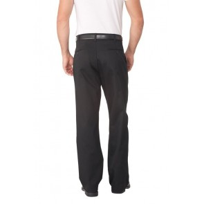 Chef Works Black Fitted Chef Pant