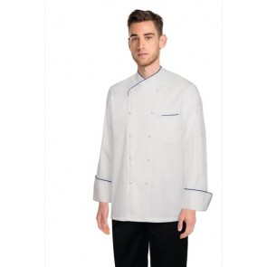 Chef Works Bali White 100% Cotton Chef Jacket