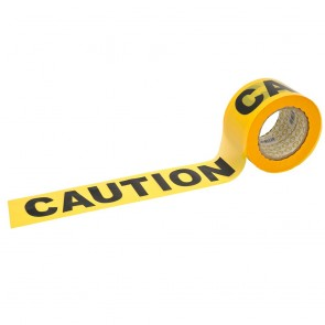 Barrier Tape - Yellow/Black CAUTION