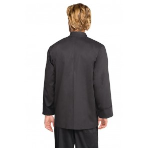 Chef Works Bastille Black Basic Chef Jacket