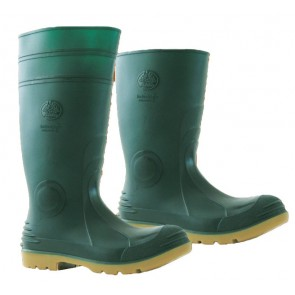 Bata Jobmaster 2 Green Gristle Gumboot - Steel Cap