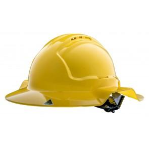 Tuffgard Broadbrim Vented Hard Hat with Ratchet Harness Type 1
