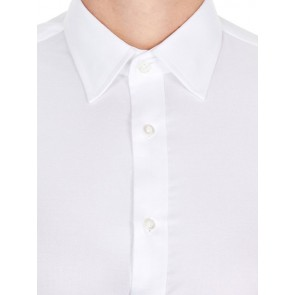 Brooksfield Mens Luxe Slim Fit French Cuff Business Shirt