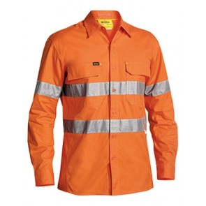 Bisley 3M Taped Hi Vis X Airflow Ripstop Shirt