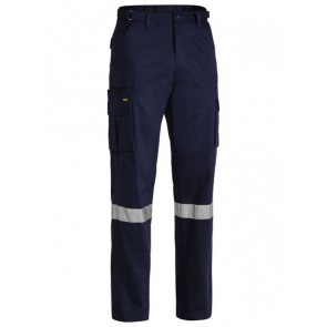 Bisley 8 Pocket Cargo Pant 3 Reflective Tape - Front