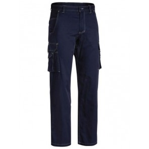 Bisley Cool Vented Light Weight Cargo Pant - Back