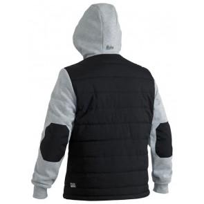 Bisley Flex & Move Contrast Puffer Fleece Hoodie