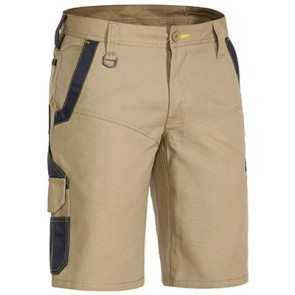 Bisley Flex & Move™ Stretch Short - Khaki