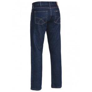 Bisley Industrial Straight Leg Men's Work Denim Jean