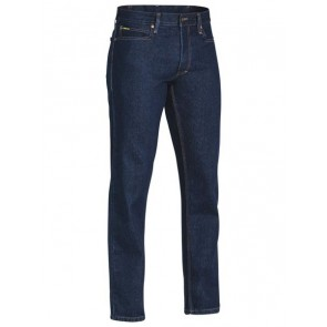 Bisley Industrial Straight Leg Men's Work Denim Jean - Front