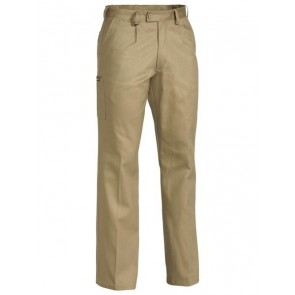 Bisley Original Cotton Drill Work Pant - Khaki Front