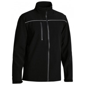 Bisley Men's Soft Shell Jacket - Black