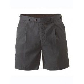 Bisley Mens Permanent Press Short - Black