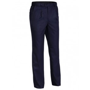 Bisley Mens Permanent Press Trouser - Navy Front