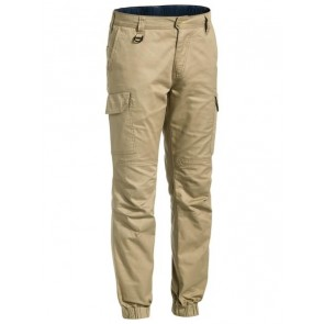Bisley Ripstop Stove Pipe Engineered Cargo Pant - Khaki Front