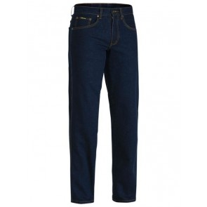 Bisley Rough Rider Denim Stretch Jeans - Front