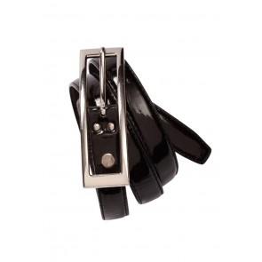 Biz Collection Ladies Semi-Patent Belt
