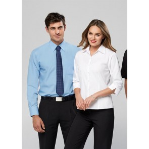 Biz Collection Mens Base Long Sleeve Shirt - Models