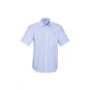 Biz Collection Mens Base Short Sleeve Shirt