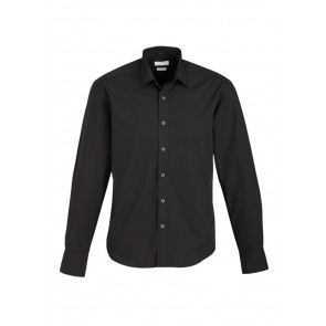 Biz Collection Mens Berlin Long Sleeve Shirt