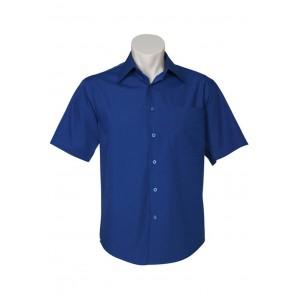Biz Collection Mens Metro Short Sleeve Shirt