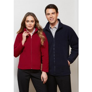 Biz Collection Mens Plain Microfleece Jacket - Models