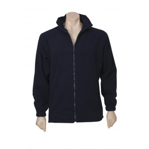 Biz Collection Mens Plain Microfleece Jacket