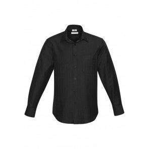 Biz Collection Mens Preston Long Sleeve Shirt